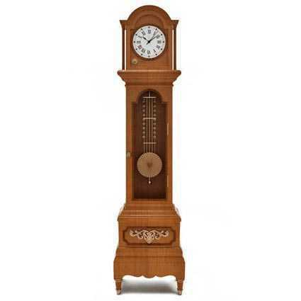 A picture of a grandfather clock.